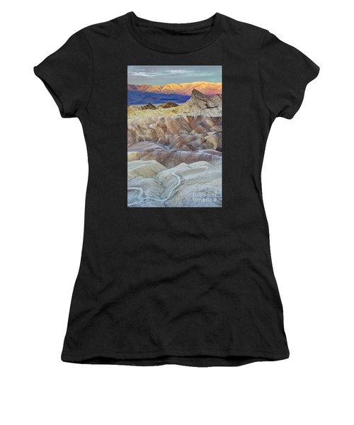 Sunrise In Death Valley Women's T-Shirt