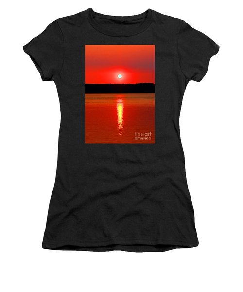 Sunrise Over Whidbey Island Women's T-Shirt