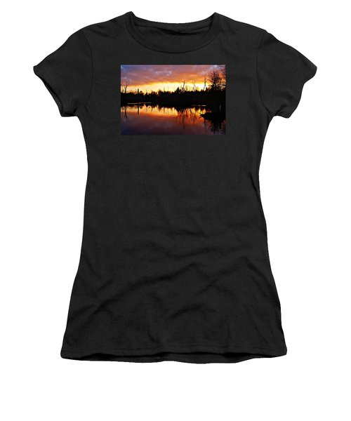 Sunrise Thanksgiving Morning Women's T-Shirt (Athletic Fit)