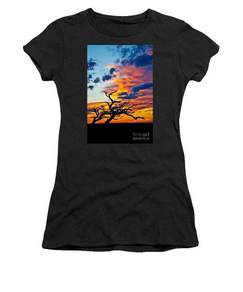 Sunset At Enchanted Rock Women's T-Shirt