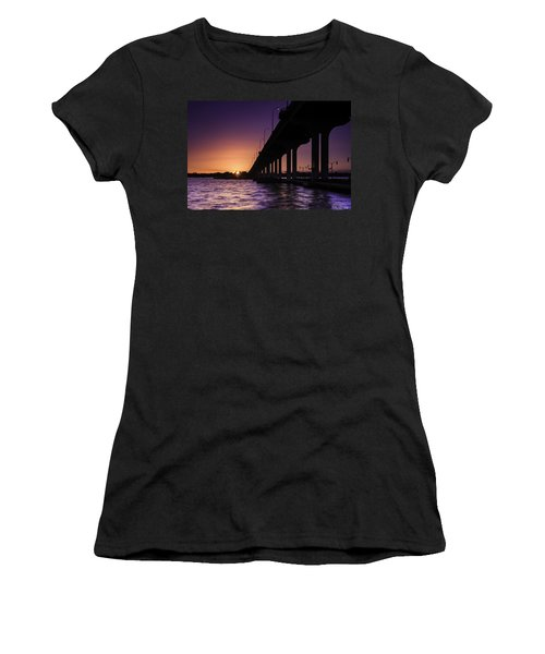 Sunset At Jensen Beach Women's T-Shirt (Athletic Fit)