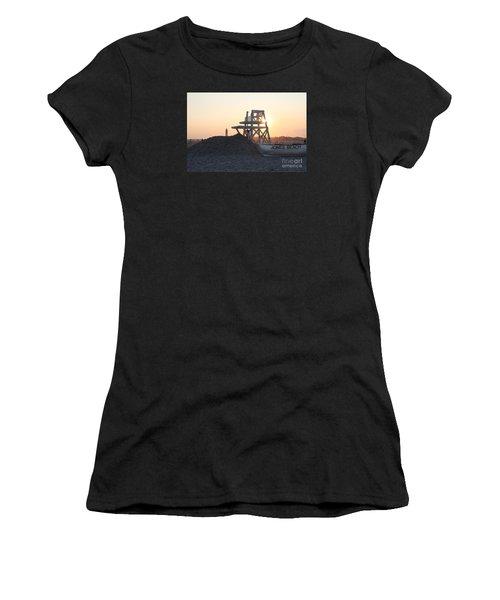 Sunset At Jones Beach Women's T-Shirt (Athletic Fit)