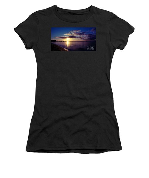 Sunset At Monkey Mia Women's T-Shirt