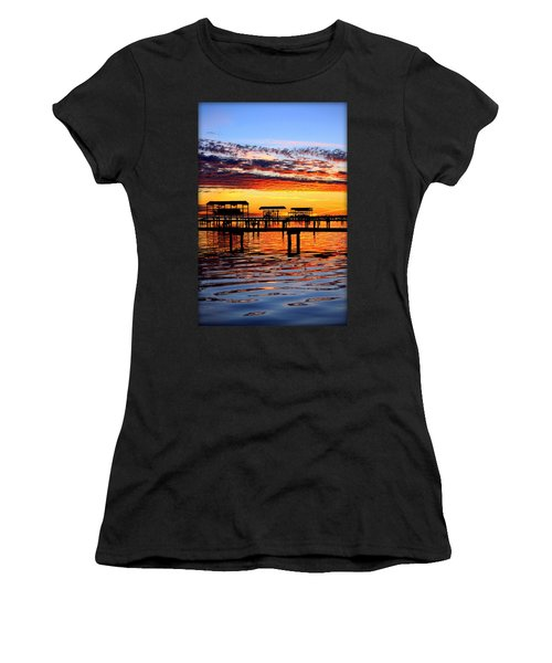 Sunset Breeze Women's T-Shirt (Athletic Fit)
