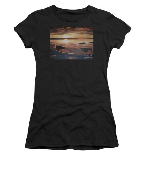 Sunset Evening Tide Women's T-Shirt
