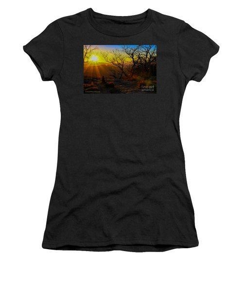 Sunset From Blood Mountain Women's T-Shirt