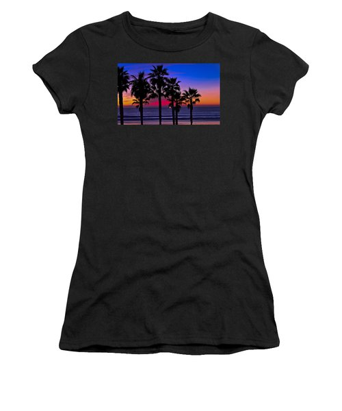 Sunset From The Ocean Park Inn Women's T-Shirt