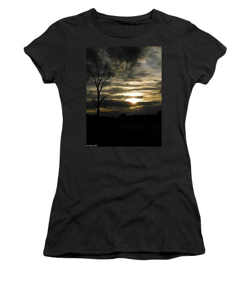 Sunset Of Life Women's T-Shirt (Junior Cut) by Nick Kirby
