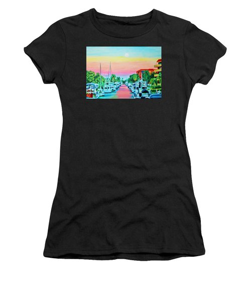 Sunset On The Canal Women's T-Shirt