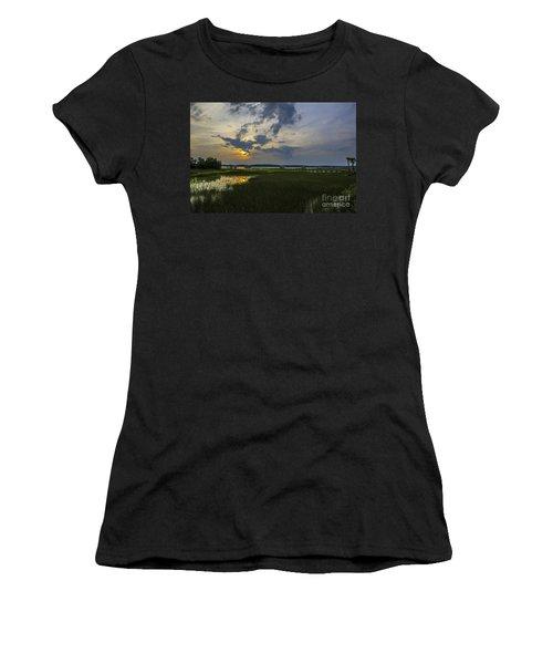 Sunset Over The Wando Women's T-Shirt