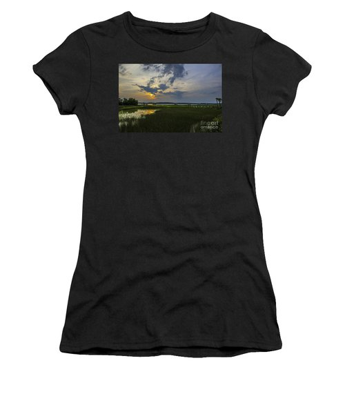 Sunset Over The Wando Women's T-Shirt