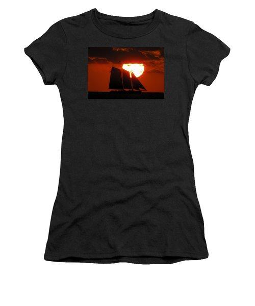 Key West Sunset Sail 5 Women's T-Shirt