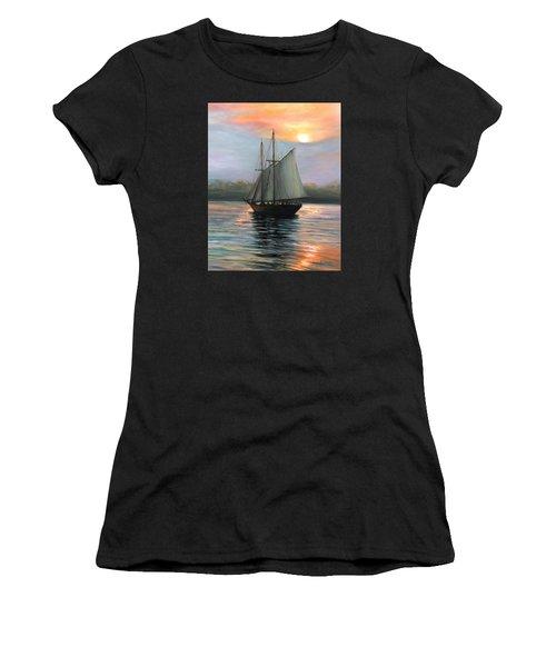 Sunset Sails Women's T-Shirt (Athletic Fit)