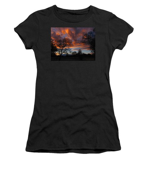 Sunset September 24 2013 Women's T-Shirt (Athletic Fit)