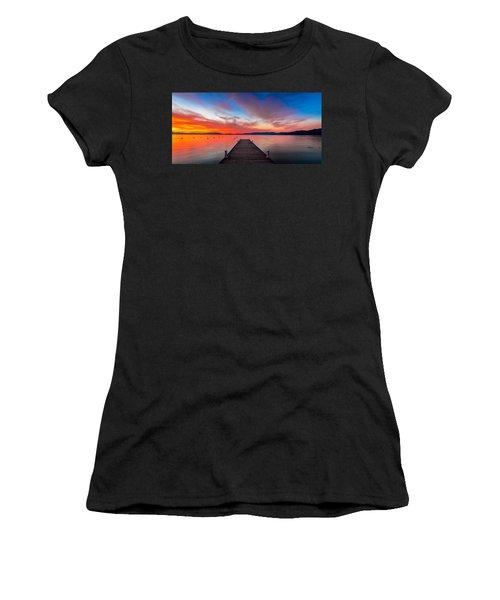 Sunset Walkway Women's T-Shirt
