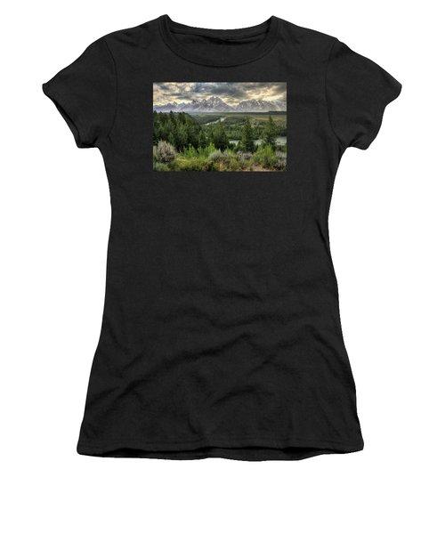Sunstorm  Women's T-Shirt (Athletic Fit)
