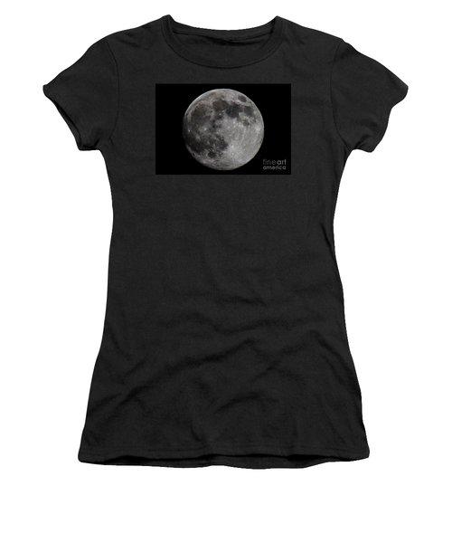 Super Moon 2014 Women's T-Shirt (Athletic Fit)