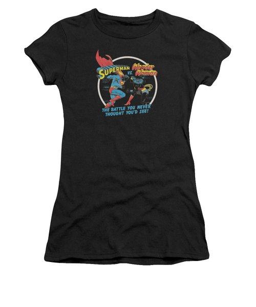 Superman - Battle Of The Sexes Women's T-Shirt