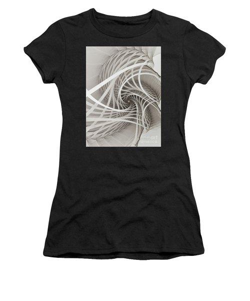 Suspension Bridge-fractal Art Women's T-Shirt