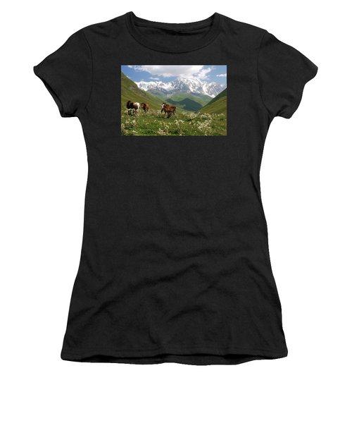 Svaneti  Women's T-Shirt (Athletic Fit)