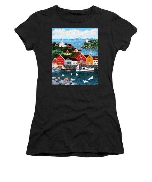 Swan's Cove Women's T-Shirt (Athletic Fit)
