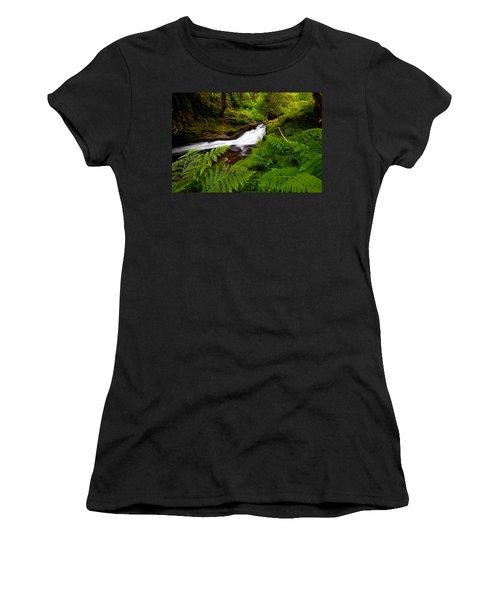 Sweet Creek Ferns Women's T-Shirt