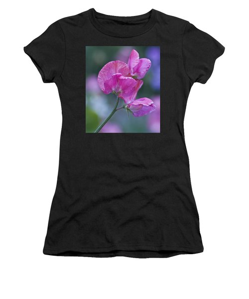 Sweet Pea In Pink Women's T-Shirt