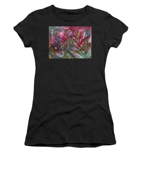 Sweet Peas In Bloom Women's T-Shirt