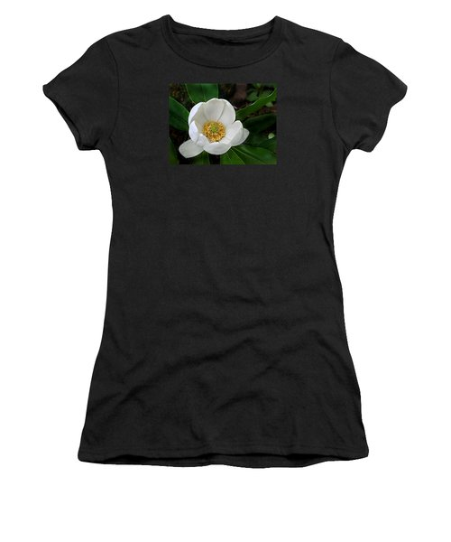 Women's T-Shirt (Junior Cut) featuring the photograph Sweetbay Magnolia by William Tanneberger