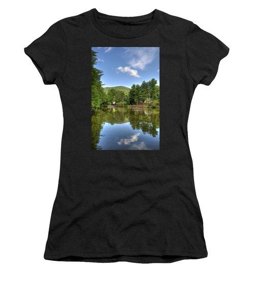 Swiss Mountain Lake Women's T-Shirt