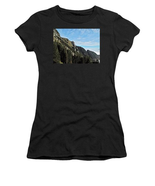 Swiss Sights Women's T-Shirt (Athletic Fit)