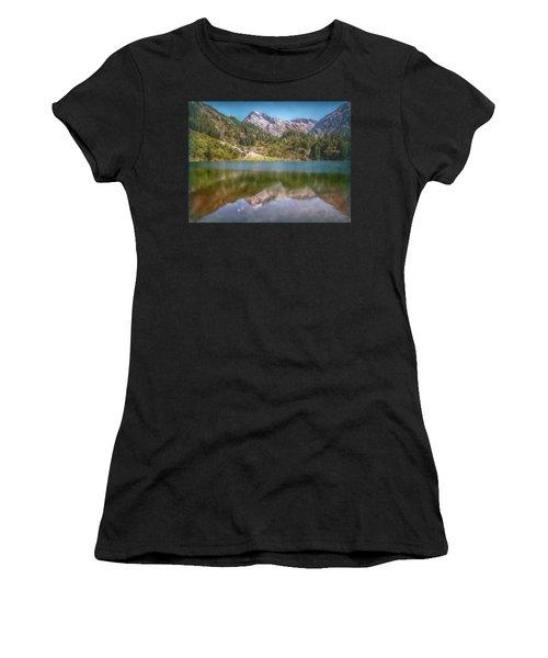 Swiss Tarn Women's T-Shirt (Athletic Fit)
