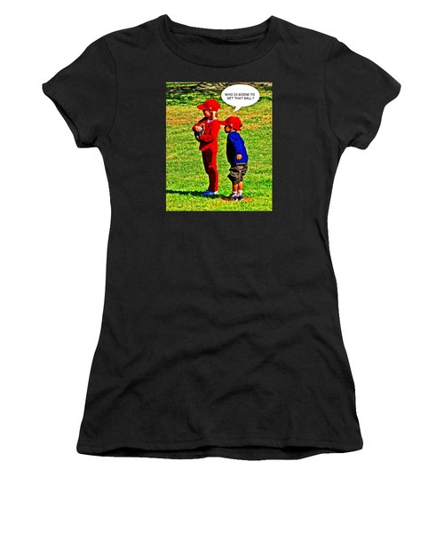 T Ball Fielders Women's T-Shirt