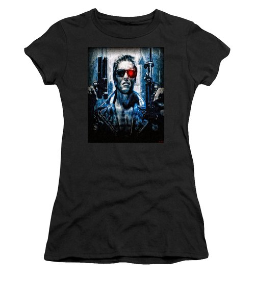 T800 Terminator Women's T-Shirt (Athletic Fit)