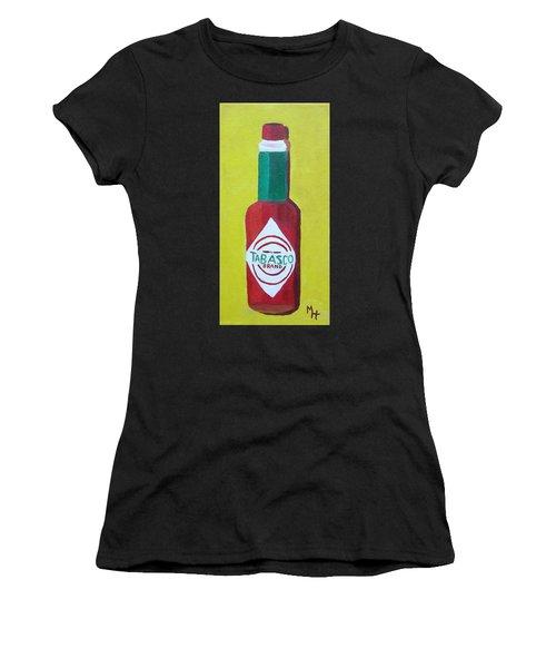 Tabasco Brand Pepper Sauce Women's T-Shirt (Athletic Fit)