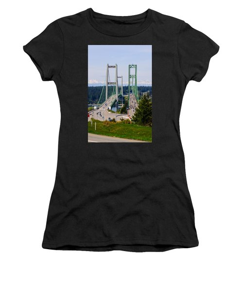 Tacoma Narrows Bridge Women's T-Shirt
