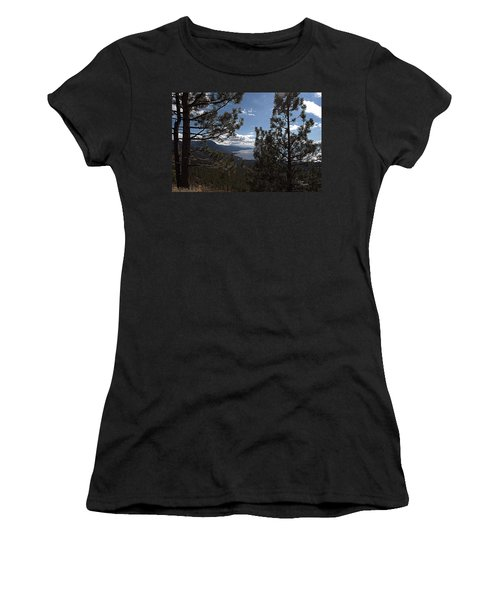 Tahoe Trees Women's T-Shirt (Athletic Fit)