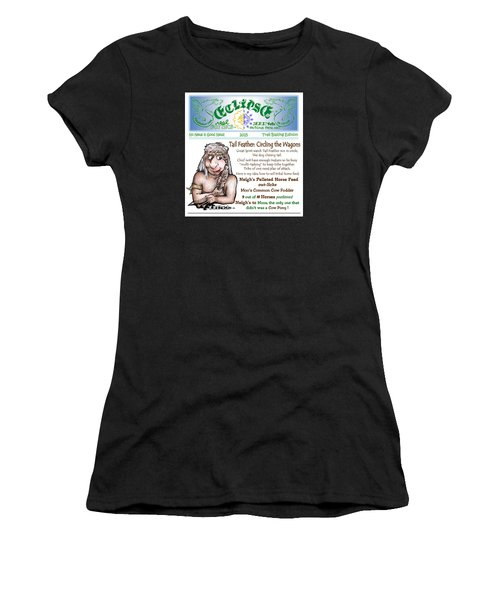 Real Fake News Circling The Wagons Column 1 Women's T-Shirt (Athletic Fit)