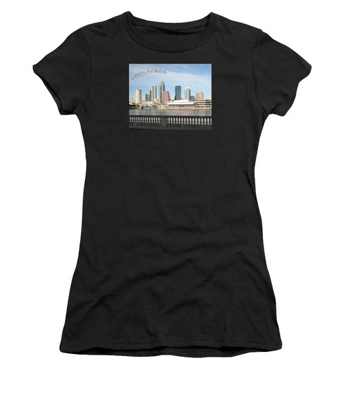 Tampa Skyline Women's T-Shirt (Athletic Fit)