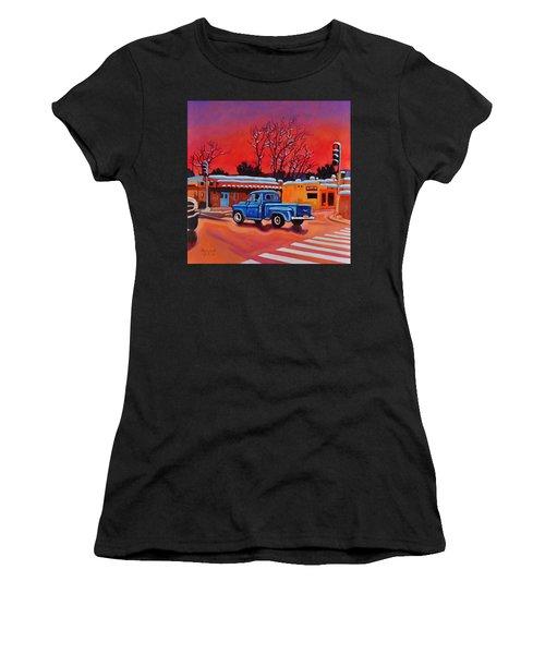 Taos Blue Truck At Dusk Women's T-Shirt