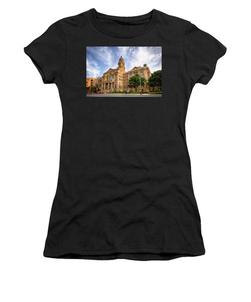 Tarrant County Courthouse II Women's T-Shirt