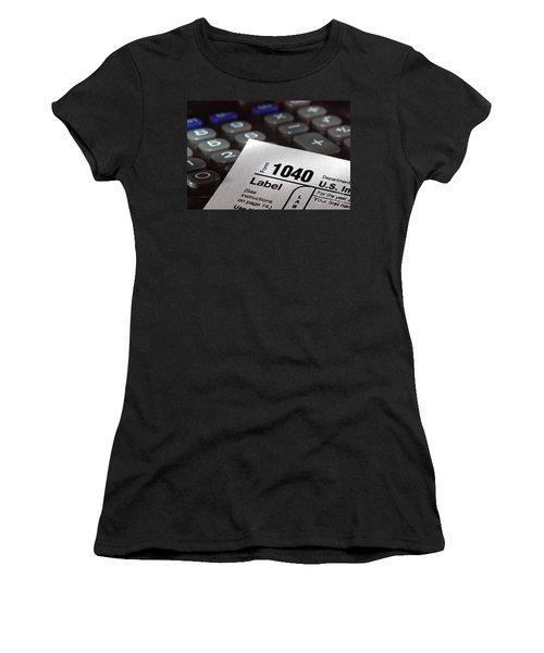 Tax Form 1040 Women's T-Shirt