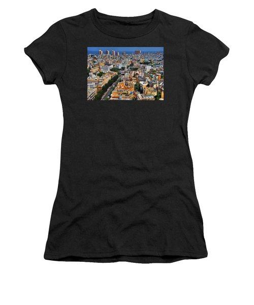 Tel Aviv Eagle Eye View Women's T-Shirt