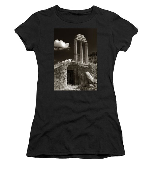 Temple Of Castor And Polux Women's T-Shirt (Athletic Fit)