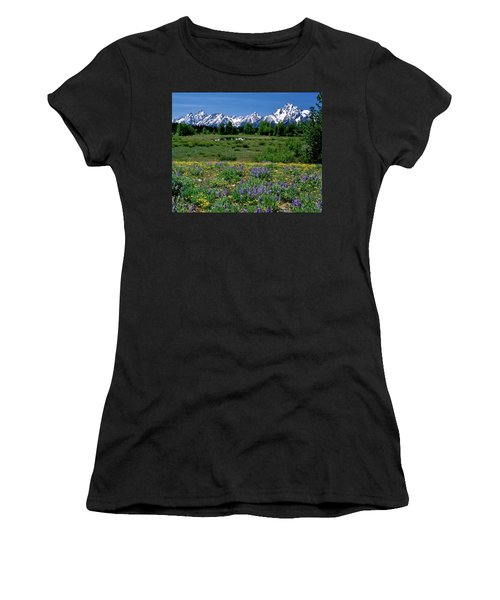 Teton Grandeur Women's T-Shirt (Athletic Fit)