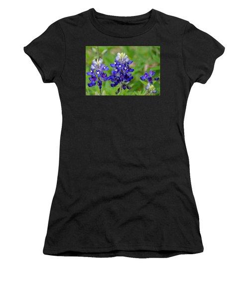 Texas Bluebonnets Women's T-Shirt (Athletic Fit)
