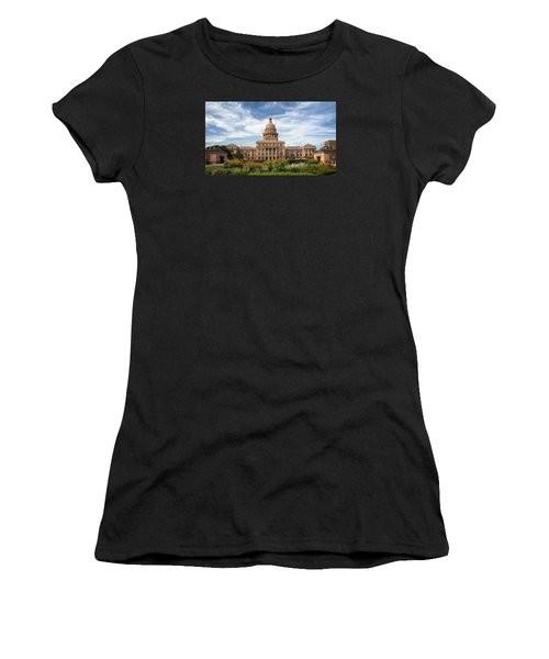 Texas State Capitol II Women's T-Shirt (Athletic Fit)