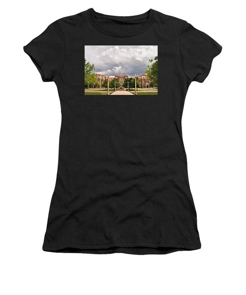 Women's T-Shirt featuring the photograph School Of Education by Mae Wertz