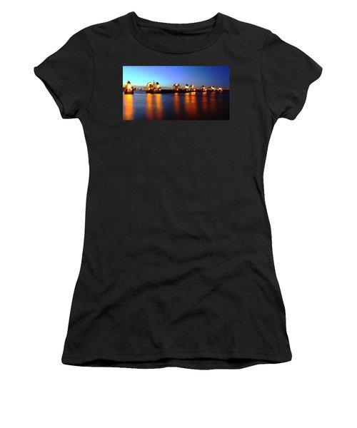 Women's T-Shirt (Junior Cut) featuring the photograph London Thames River by Mariusz Czajkowski
