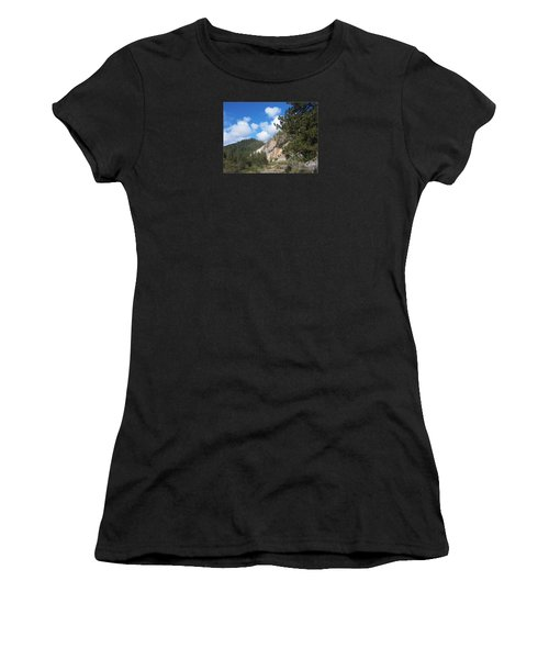 Clouds Of Hearts Women's T-Shirt (Athletic Fit)